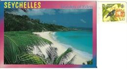 SEYCHELLES  LA DIGUE  Nice Stamp Bird Theme - Seychelles