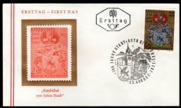 ÖSTERREICH 1971 - Wappen Kitzbühel In Tirol / 700 Jahre Stadt Kitzbühel - FDC - Briefe U. Dokumente