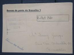 BELGIQUE - Enveloppe En Recommandée Et En Franchise De La Poste De Bruxelles- à Voir - Lot P7730 - Belgium