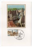 1972--Carte Maximum-Abbaye De Charlieu-42---cachet  CHARLIEU--42 - Cartes-Maximum