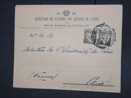 PORTUGAL - Enveloppe De L'academie Des Sciences De Lisbonne Pour Paris En 1933 - à Voir - Lot P7738 - 1910-... République