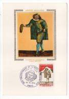 1973--Carte Maximum--300°anniversaire De La Mort De MOLIERE  -cachet  PARIS--75 - Cartes-Maximum
