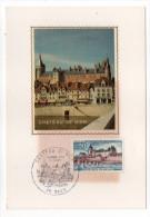 1973--Carte Maximum--Chateau De GIEN -cachet  GIEN--45 - Cartes-Maximum