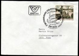 ÖSTERREICH 1984 - Naturschönheiten / Blockheide Eibenstein, Gmünd Niederösterreich - FDC - Sonstige