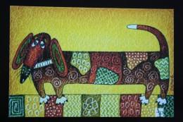 "Dachshund - Teckel - Dackel - Bassotto -   - Printed In Ukraine (""DikoePole"" Edition), 2015 - Cani"