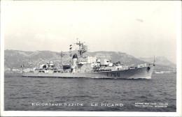 Escorteur Rapide Le Picard F 766 - Boten