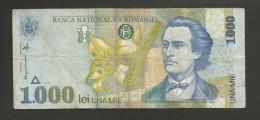 ROMANIA - BANCA NATIONALA A ROMANIEI - 1000 LEI (1998) - M. EMINESCU - Romania