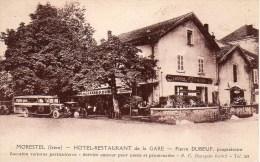38 MORESTEL  Hôtel Restaurant De La Gare - Morestel