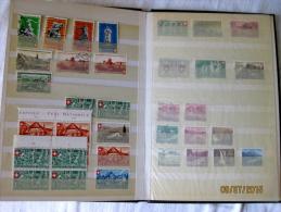 Suisse: Collection Pro Patria + 4 Enveloppes 1er Jour - Collections (en Albums)