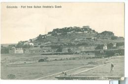 1900s? India Golconda Fort From Sultan Ibrahim's Tomb Pc Unused - India