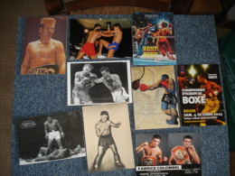 Lot De 9 Cartes Postales Sur Le Theme De La Boxe - Cartes Postales