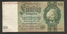 DEUTSCHLAND - Weimarer Republik - 50 Reichsmark (Berlin 1933) - [ 3] 1918-1933 : Repubblica  Di Weimar