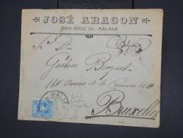 ESPAGNE - Enveloppe Commerciale De Malaga Pour Bruxelles En 1910 - à Voir - Lot P7758 - Cartas