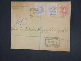 ESPAGNE - Bande Journal En Recommandée De Médina Del Campo En 1906 - Aff Plaisant - à Voir - Lot P7761 - Cartas