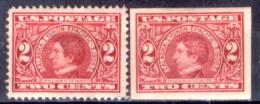 Stati-Uniti-0056 -1909 - Unificato, N.234/235 (++/+) MNH/TLH - Privi Di Difetti Occulti. - Unused Stamps