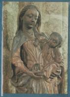 22-Notre Dame De Boquen-Statue Polychrome Du XVe- Non écrite - 2 Scans -10.5 X 15 - - Frankreich