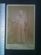 Photo CDV - Personnage Religieux, Amédée Jean Evêque De Vannes, Photographie G. Meurisse Fils - Personnes Identifiées