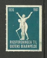 DENMARK Dänemark 1961 Vignette Poster Stamp * - Cinderellas