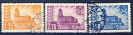 ##Finland 1941. Viipuri. Michel 239-41. Used(o) - Gebraucht