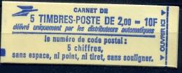 CARNET NEUF  - 1983  N° YVERT 2274-C1a ( 2.00 - Bleue)  Neuf **  MNH - Carnets