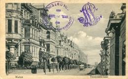 Cachet COMMISSION De Gare GOLDSTEIN   -MAINZ  1919 Sur Cpa Idem - Sin Clasificación