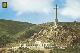 PP1471  - POSTAL -  SANTA CRUZ DEL VALLE DE LOS CAIDOS - ENTRADA A LA BASILICA - Madrid
