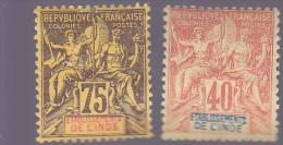 INDE : Y&T : 10 à 12* - Inde (1892-1954)