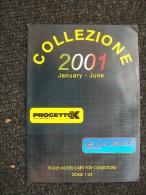 CATALOGO AUTOMODELLI PROGETTO K 2001  Fiat Alfa Lancia 1/43 - Italia