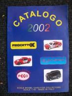 CATALOGO AUTOMODELLI PROGETTO K 2002  Fiat Alfa Lancia 1/43 - Italia