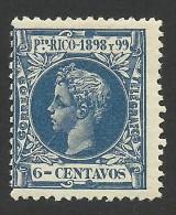 Puerto Rico, 6 C. 1898, Sc # 145, MH - Puerto Rico