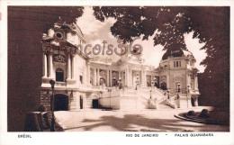 Brésil Brazil - Rio De Janeiro - Palais Guanabara - 2 SCANS - Brésil
