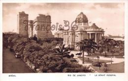 Brésil Brazil - Rio De Janeiro - Le Sénat Féderal - 2 SCANS - Brésil