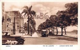 Brésil Brazil - Rio De Janeiro - Avenue Beira Mar - 2 SCANS - Brésil