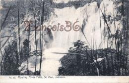 Jamaica Jamaïque - Roaring River Falls, Saint St Ann - 2 SCANS - Jamaïque