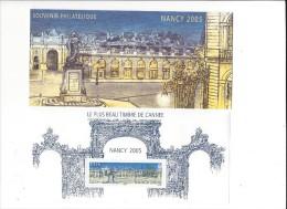 12640 - Souvenir Philatélique Nancy 2005