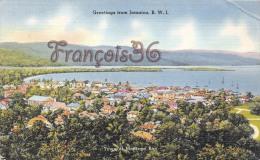 Jamaica Jamaïque - Greetings From Jamaica, B.W.I. - 2 SCANS - Jamaïque