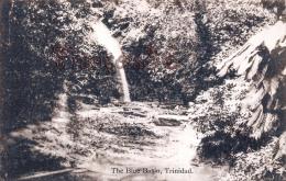 Trinidad - The Blue Basin - 2 SCANS - Trinidad