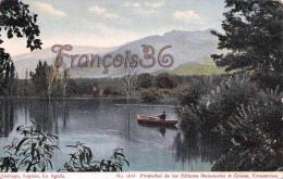 Chili Chile - Santiago - Laguna Lo Aguila - 2 SCANS - Cile