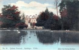 Chili Chile - Santiago - Quinta Normal - 2 SCANS - Cile