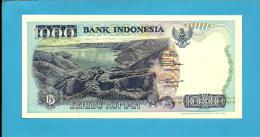 INDONESIA - 1000 Rupiah - 1992 / 1998 - P 129.g - UNC. - Série  HBP - 2 Scans - Indonesia
