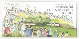 12641 - Souvenir Philatélique  Centenaire De L'Open De France De Golf 2006 Sous Blister
