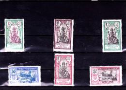 INDE : Y&T : 49 à 55* Sauf 52 - India (1892-1954)