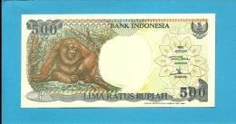 INDONESIA - 500 Rupiah - 1992 / 1999 - P 128.h - UNC. - Série HBA - 2 Scans - Indonésie