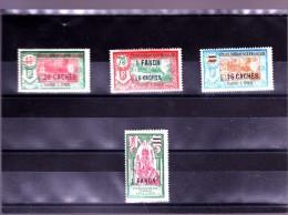 INDE : Y&T : 79*80*82*83* - India (1892-1954)