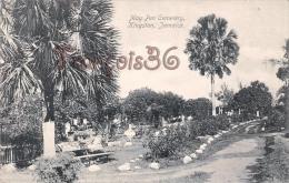 Jamaïque Jamaica - Kingston - May Pen Cemetery - 2 SCANS - Jamaïque