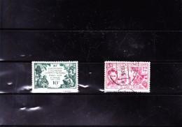 INDE : Exposition De Paris : Y&T : 105*106o - India (1892-1954)