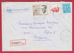 177443  /  1985 - König  Baudouin , LION , BRUXELLES 8 Belgique Belgium Belgien Belgio - Lettres & Documents