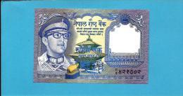 NEPAL - 1  Rupee - ND ( 1974 ) - P 22 - Sign. 11 - UNC. - King Birendra Bir Bikram - 2 Scans - Nepal