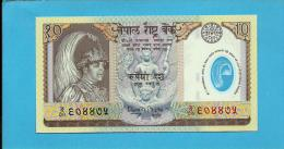 NEPAL - 10 Rupees - ND 30.9.2002 - P 45 - Sign. 15 - UNC. - Commemorative Issue - POLYMER -  King Gyanendra Bir Bikram - Nepal