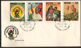 1983, GUINEA BISSAU. WOMAN UNION FDC. - Guinea-Bissau